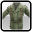Icon: Dark Green Oil Coat