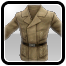 Icon: Brown Gunner Coat