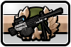 Icon: Challenge I:Scoped Arctic M249