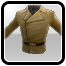 Icon: Soldier's Brown Uniform Jacket