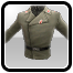 Icon: Soldier's Gray Uniform Jacket