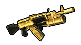 Golden AK74-30 Battle Rifle