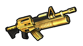 Golden M16-203 Battle Rifle